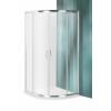 Roltechnik Proxima Line PXR2N íves zuhanykabin 200 cm magas átlátszó üveggel 90x90 cm