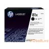 HP HP CF281X Toner Black 25k No.81X (Eredeti)
