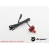Bitspower G1/4 Deep Blood Red Temperature Sensor Stop Fitting /BP-DBRWP-CT/