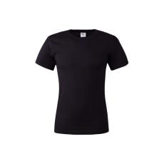 KEYA unisex pamut póló, világoskék (Keya unisex környakas pamut póló, 180g/m2, 100% gyűrü fonásu)