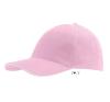 SOLS Sol´s sapka, 6 paneles, U, pink/fehér férfi ruházati kiegészítő