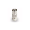 Cable F-adapter F férfi - IEC female