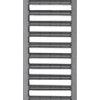 ACO SELF porszórt antracit horganyzott acél bordásrács 1 m