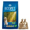 Ecopet Natural Adult Medium Fish 2*14kg