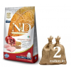 NATURAL&DELICIOUS N&D Low Grain Puppy Maxi gránátalmával 2*12kg