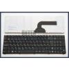 Asus X72JK fekete magyar (HU) laptop/notebook billentyűzet