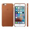 Apple iPhone 6S Plus gyári bőr hátlap tok, vörösesbarna, MKXC2