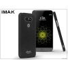 IMAK LG G5 H850 hátlap - IMAK Sandstone Super Slim - fekete