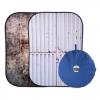Lastolite Urban 150cm x 210cm Tarnished Metal/Container összecsukható háttér