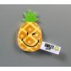 NICI Smiley Plüss hűtőmágnes ananász 6 cm