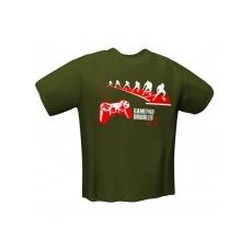 GamersWear GAMEPAD DRIBBLER T-Shirt Olive (M)