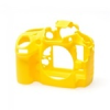 Easycover szilikon tok - Nikon D800 / D800E - sárga