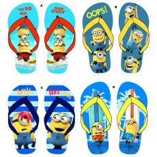 Minions flip-flop papucs