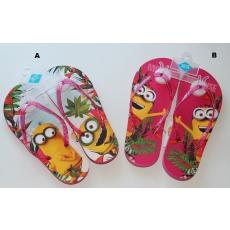 Minions flip-flop papucs - pink - NAGY MÉRET