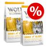 Wolf of Wilderness gazdaságos csomag 2 x 12 kg - Junior Wild Hills