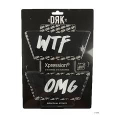 Dorko Unisex Tépőzár OMG/WTF