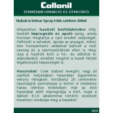 Collonil Unisex CIPŐ ÁPOLÓ NUBUKVELOUR ÁPOLÓ, IMPREGNÁLÓ S. BARNA