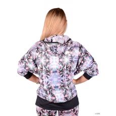 Adidas PERFORMANCE Női Végigzippes pulóver CT AOP JACKET