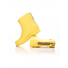 Dorko YELLOW COLOR ANKLE BOOT WITH ZIPPER GUMICSIZMA