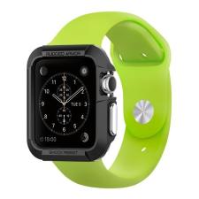 Spigen SGP Rugged Armor Apple Watch 42mm Black tok okosóra