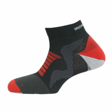 IRONMAN Pro Running Quarter black/red talpbetét