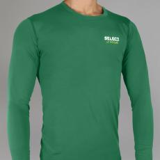 Select Kompressziós póló L/S 6901 - zöld