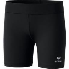 Erima Basic Running Tights, short fekete rövidnadrág