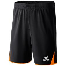 Erima 5-CUBES Shorts fekete/narancs rövidnadrág