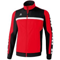Erima 5-CUBES Polyester Jacket piros/fekete/fehér melegítő felső