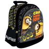 Minion, Minyon hátizsák, iskolatáska 38x29x11cm, szürke