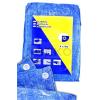 Takaróponyva 5x6m kék 50g/m2 +/-5%