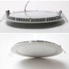 24W mennyezetbe süllyeszthetõ kerek LED panel meleg fehér