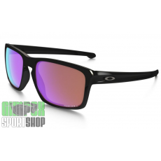 OAKLEY Sliver Polished Black Prizm Golf