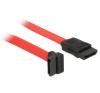 DELOCK SATA cable 22cm up/straight (84354) kábel és adapter