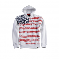 Alpha Industries Flag Hoody - fehér