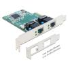 DELOCK I/O DELOCK PCI Express Card > 2 x Gigabit LAN (89358)