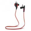 Bluetooth sztereó headset, sportoláshoz, Forever BSH-100, piros