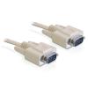 DELOCK Cable RS-232 serial Sub-D9 male / male 2m (82981)