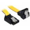 DELOCK Cable SATA 6 Gb/s up/down metal 70cm (82822)