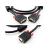 Unitek Kábel VGA HD15 M/M 8m, Y-C512A
