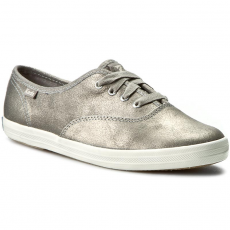 Keds Teniszcipő KEDS - Champion Metallic WH54531 Leather Silver