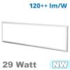 LED panel (1200 x 300 mm) 29 Watt - term. fehér (3600 lm)