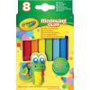 Crayola gyurma 8 db, klasszikus színek