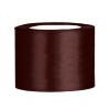 5 cm-s szatén szalag (25 m) barna