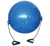 Gimnasztikai labda bővítőkkel - 650 mm fitness labda