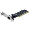 Startech PCI 10/100Mbps hálózati kártya low profile