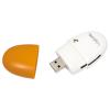 LogiLink 'Smile' USB 2.0 Multi kártyaolvasó, sárga