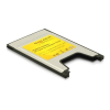 DELOCK PCIMCIA Compact Flash kártyaolvasó fekete