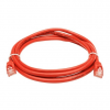 LogiLink CAT5e SF/UTP Patch Cable AWG26 red 0,25m
