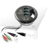 DELOCK 3 portos USB3.0 HUB asztalba építhető